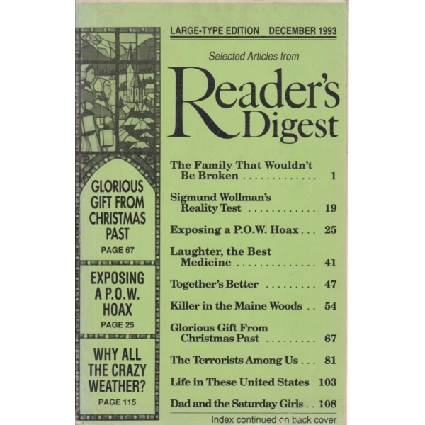 Readerr's digest-december-1993